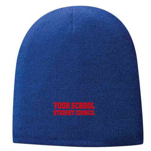 Student Council Embroidered Fleece Lined Beanie