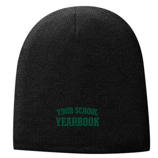 Yearbook Embroidered Fleece Lined Beanie