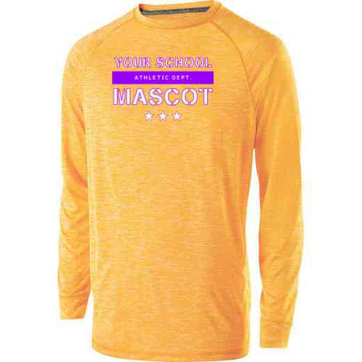 Athletic Department Holloway Electrify Long Sleeve Performance Shirt