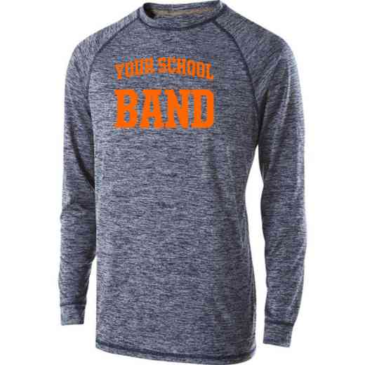 Band Holloway Electrify Long Sleeve Performance Shirt