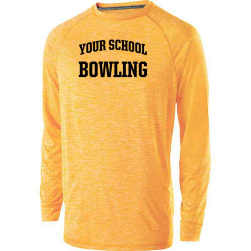Bowling Holloway Electrify Long Sleeve Performance Shirt