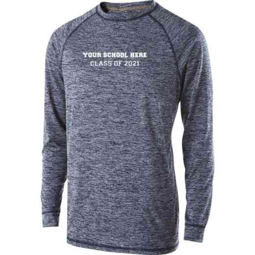 Class of  Holloway Electrify Long Sleeve Performance Shirt