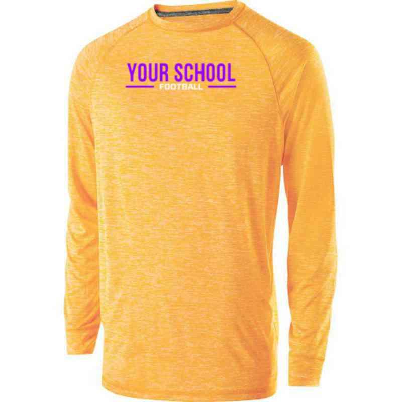 Football Holloway Electrify Long Sleeve Performance Shirt