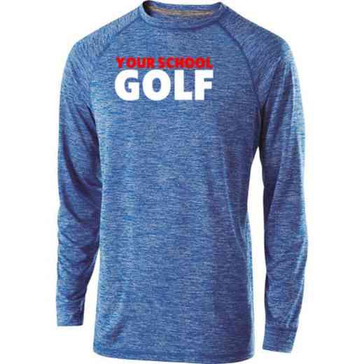 Golf Holloway Electrify Long Sleeve Performance Shirt