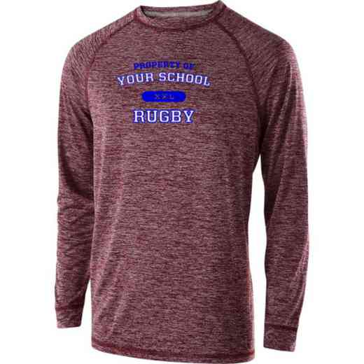 Rugby Holloway Electrify Long Sleeve Performance Shirt