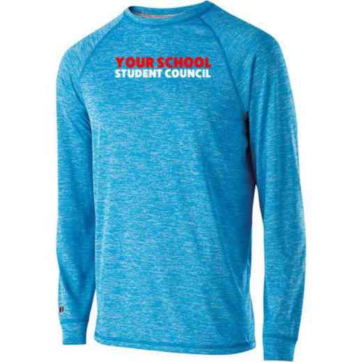 Student Council Holloway Electrify Long Sleeve Performance Shirt