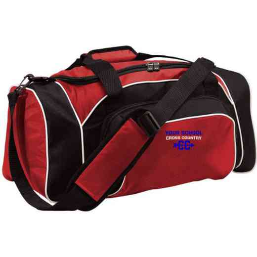 Cross Country Embroidered Holloway League Duffel Bag
