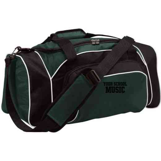 Music Embroidered Holloway League Duffel Bag