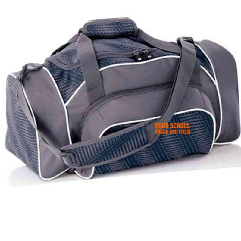 Track and Field Embroidered Holloway League Duffel Bag