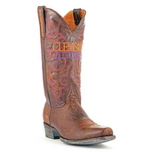Men's Clemson University Tigers Executive Cowboy Boots