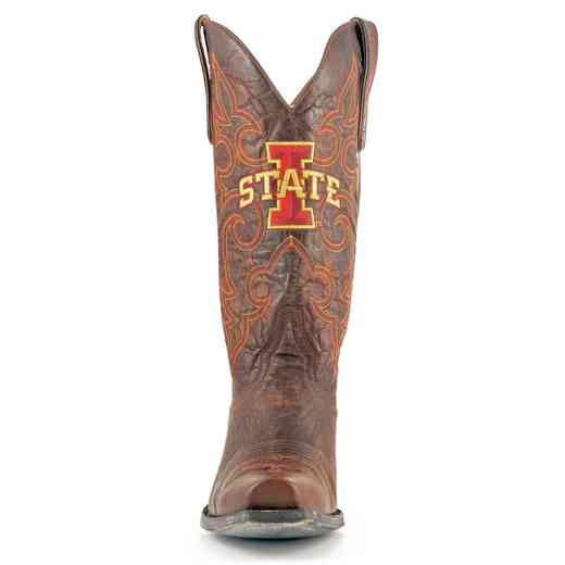 Iowa State Cyclones Men's Boardroom Boots by Gameday Boots