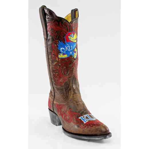 "Kansas Jayhawks Ladies 13"" Boots by Gameday Boots"