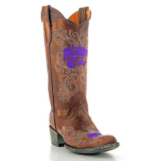 "Kansas State Wildcats Ladies 13"" Boots by Gameday Boots"