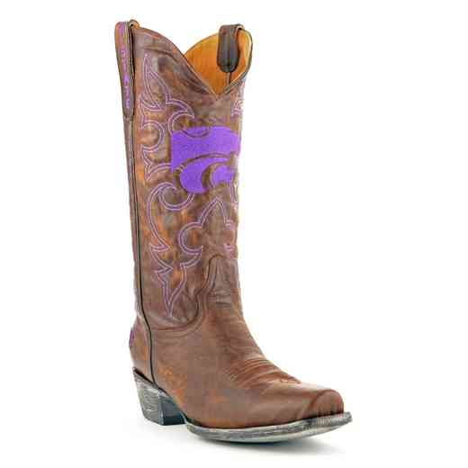 Kansas State Wildcats Men's Boardroom Boots by Gameday Boots