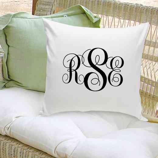 GC1559: Personalized InterlockingMonoThrowPillow