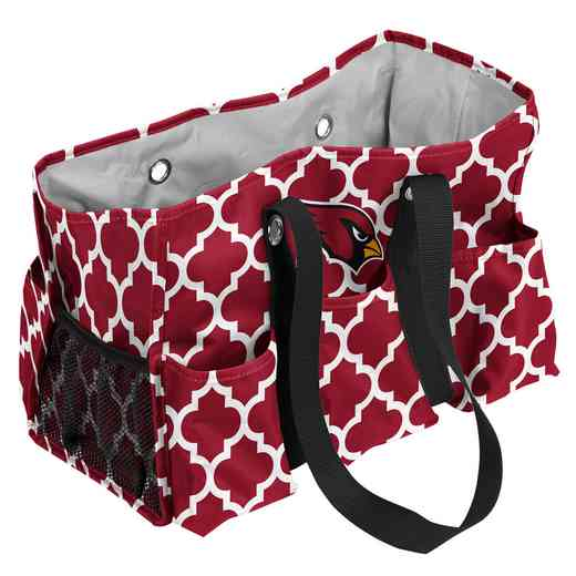 601-865QF: Arizona Cardinals Quatrefoil Jr Caddy