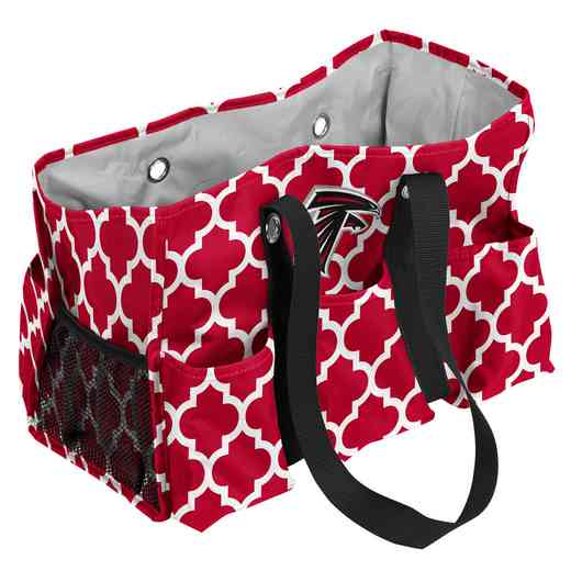 602-865QF: Atlanta Falcons Quatrefoil Jr Caddy