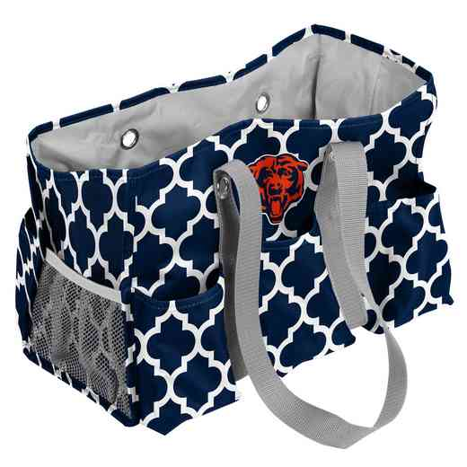 606-865QF: Chicago Bears Quatrefoil Jr Caddy