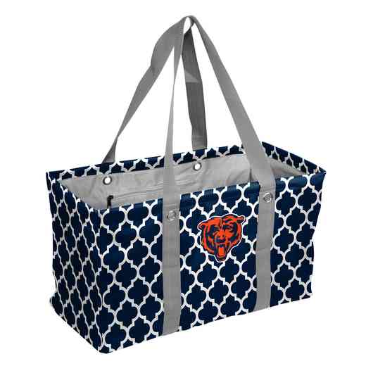 606-765QF: Chicago Bears Quatrefoil Picnic Caddy