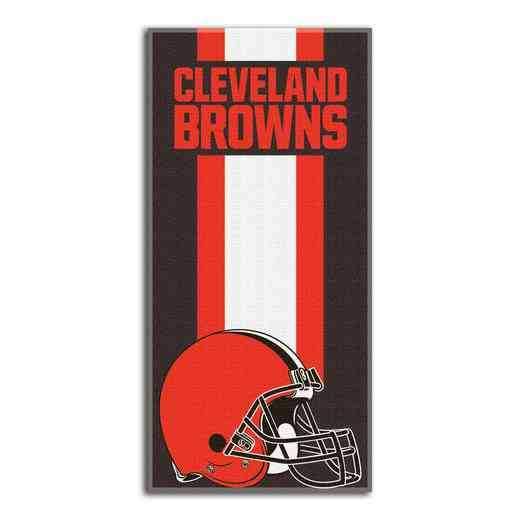 1NFL720000005RET: NFL 720 Browns Zone Read Beach Towel