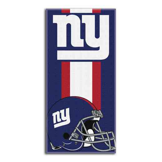 1NFL720000081RET: NFL 720 NY Giants Zone Read Beach Towel
