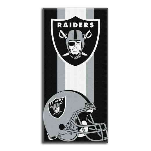 1NFL720001019RET: NFL 720 Raiders Zone Read Beach Towel