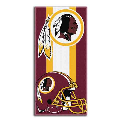 1NFL720001020RET: NFL 720 Redskins Zone Read Beach Towel