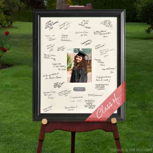 GC909 Graduation: Personalized Graduation Signature Frame