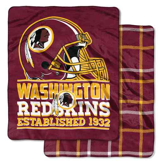 1NFL735000020RET: NW NFL CLOUD HOMEFIELD THROW, REDSKINS