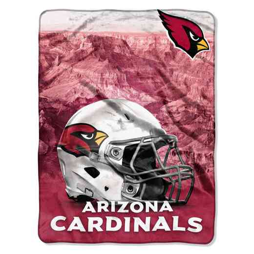 1NFL071030080RET: NW NFL HERITAGE SILK THROW, CARDINALS