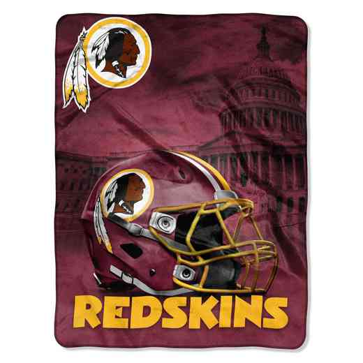1NFL071030020RET: NW NFL HERITAGE SILK THROW, REDSKINS