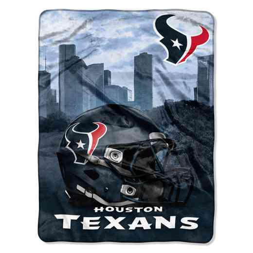 1NFL071030119RET: NW NFL HERITAGE SILK THROW, TEXANS
