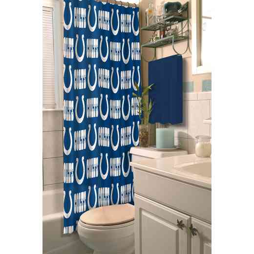 1NFL903000008RET: NFL 903 Colts Shower Curtain