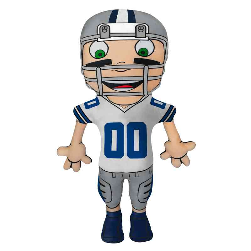 1NFL354000009RET: NW NFL CHARACTER PILLOW, COWBOYS