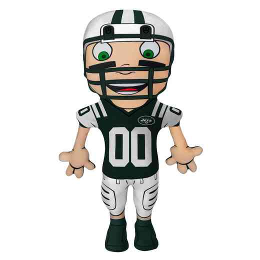 1NFL354000015RET: NW NFL CHARACTER PILLOW, JETS