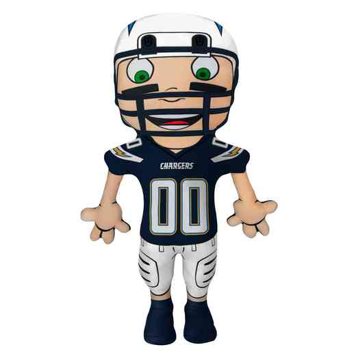 1NFL354000079RET: NW NFL CHARACTER PILLOW, CHARGERS