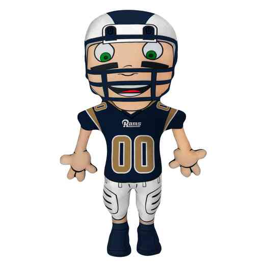 1NFL354000083RET: NW NFL CHARACTER PILLOW, RAMS