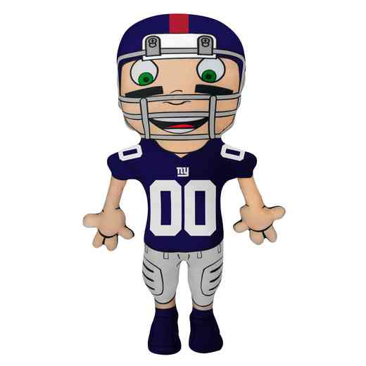 1NFL354000081RET: NW NFL CHARACTER PILLOW, NY GIANTS