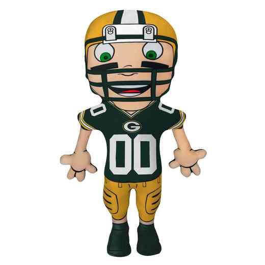 1NFL354000017RET: NW NFL CHARACTER PILLOW, PACKERS