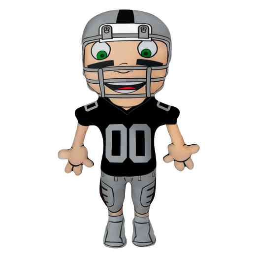 1NFL354000019RET: NW NFL CHARACTER PILLOW, RAIDERS