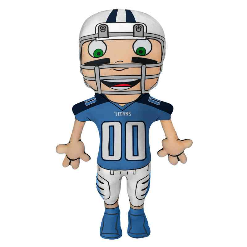 1NFL354000016RET: NW NFL CHARACTER PILLOW, TITANS