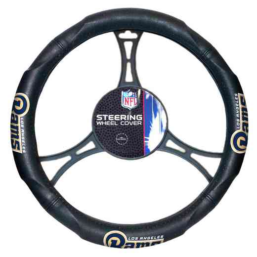 1NFL605001083RET: NW CAR STEERING WHEEL COVER, RAMS