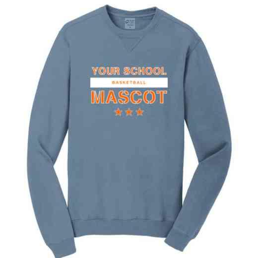Basketball Pigment Dyed Crewneck Sweatshirt