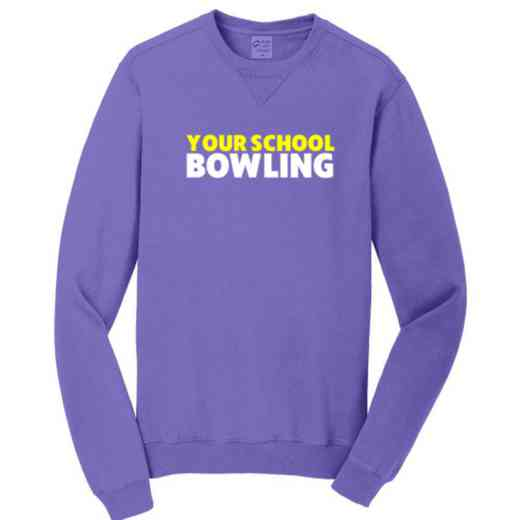 Bowling Pigment Dyed Crewneck Sweatshirt