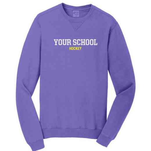 Hockey Pigment Dyed Crewneck Sweatshirt