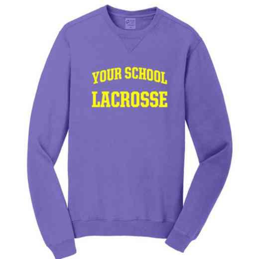 Lacrosse Pigment Dyed Crewneck Sweatshirt