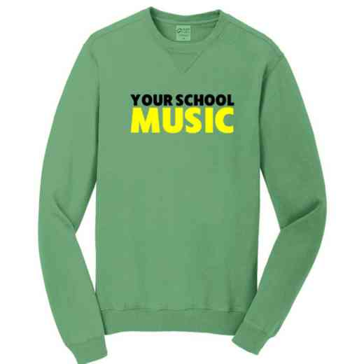 Music Pigment Dyed Crewneck Sweatshirt