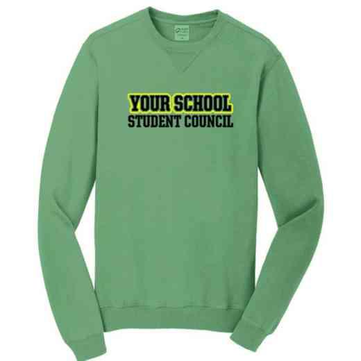 Student Council Pigment Dyed Crewneck Sweatshirt