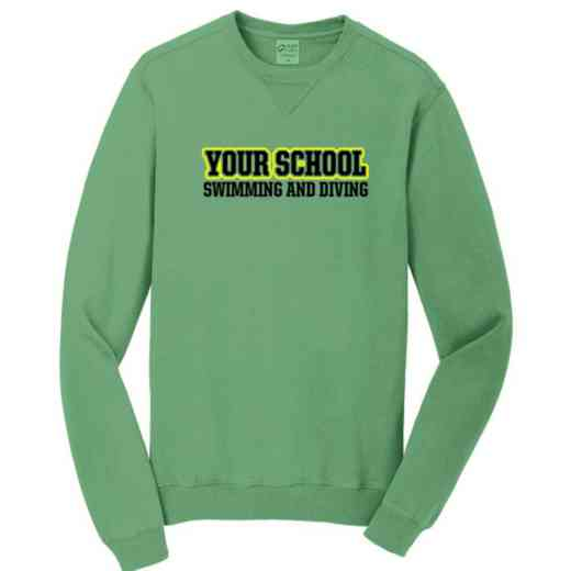 Swimming and Diving Pigment Dyed Crewneck Sweatshirt