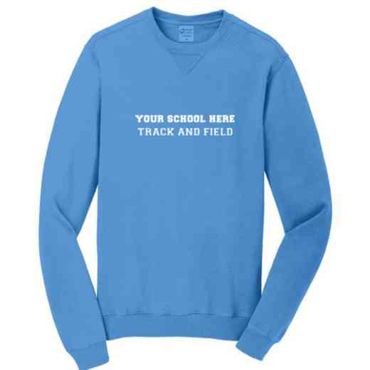 Track and Field Pigment Dyed Crewneck Sweatshirt